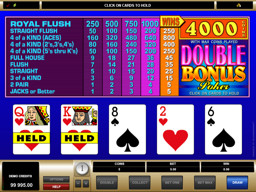 Double Regal Poker - Try it Online for Free or Real Money